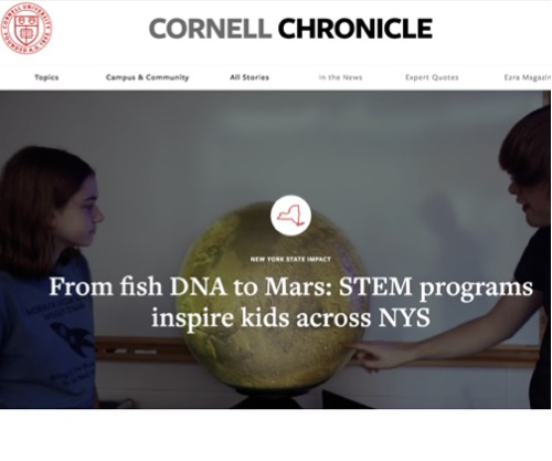 From fish DNA to Mars: STEM programs inspire kids across NYS