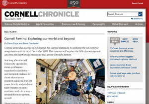 Cornell Chronicle