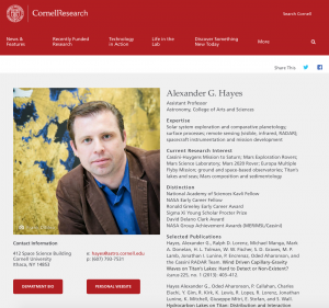 Researcher Feature