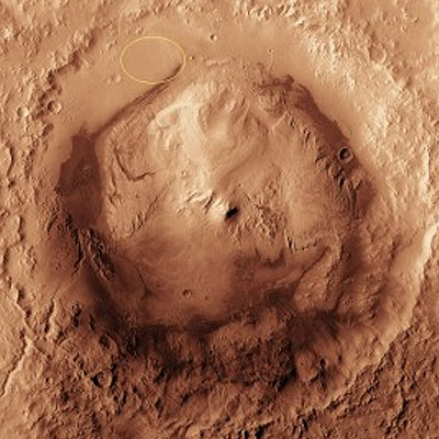 Mars Surface - Big Gale