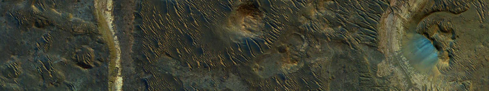 Mars Holden Crater